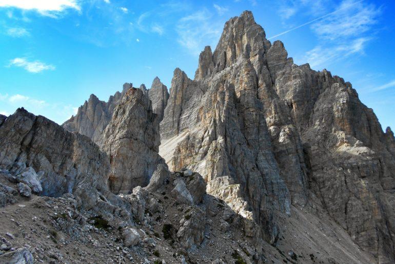 Monte Paterno Tre Cime di Lavaredo Dolomity