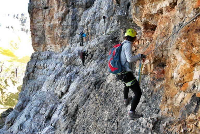 Via ferrata Giovanni Lipella na Tofanę de Rozes | Dolomity