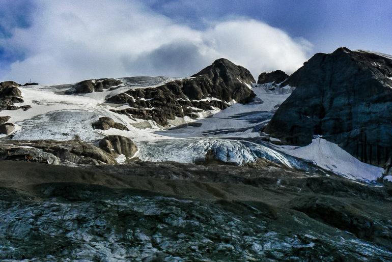 Wejście na Marmoladę, najwyższy szczyt Dolomitów
