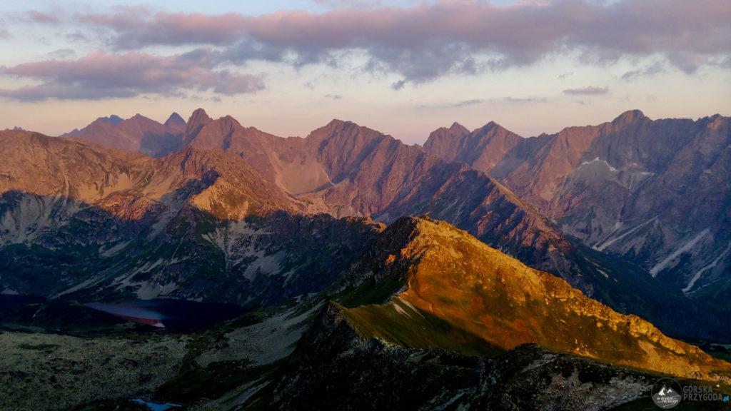 Walentkowy Wierch – bajeczny zachód słońca