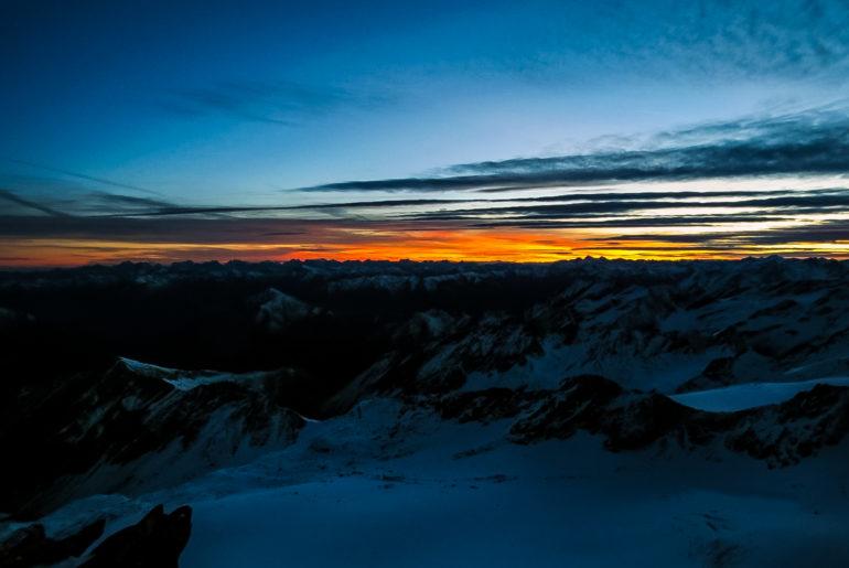 Wejście na Grossglockner najwyższy szczyt Austrii