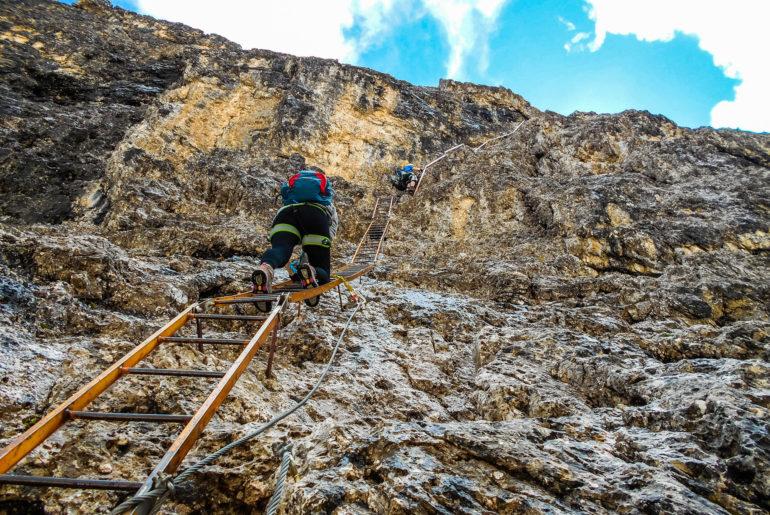 Trekking po masywie Cadini di Misurina, Sentiero Bonacossa