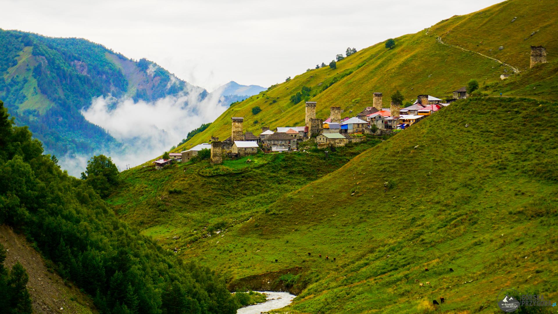 szlak mestia ushguli adishi