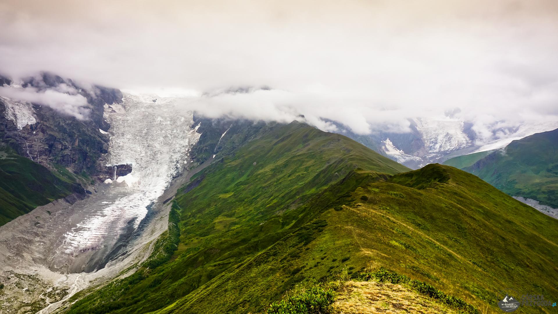 Mestia Uszguli Adishi Glacier
